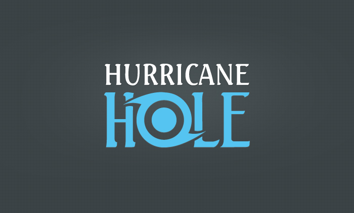 Hurricane Hole Logo Design