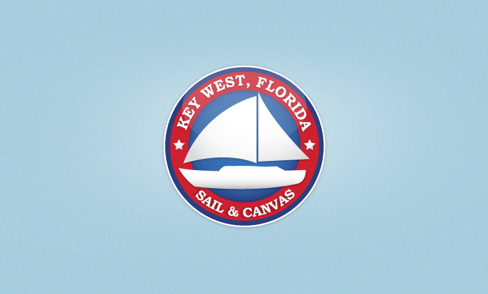 Key West Sail & Canvas Logo Design