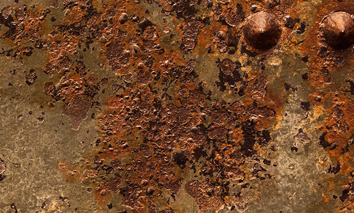 12 High-Resolution Textures: Old Military